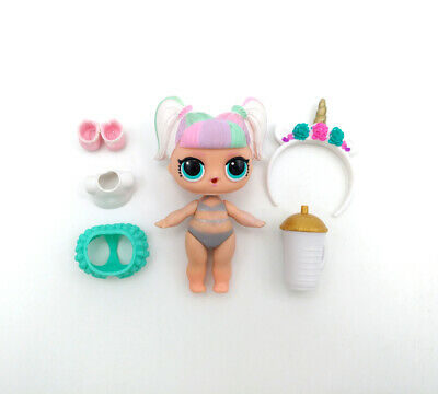 LOL Surprise Doll Big Sister Gift Confetti Pop Series 3-012 UNICORN Color Change