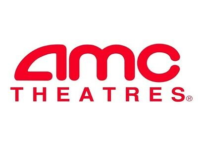 2 AMC Theaters Black MOVIE TICKETS, 1 Large POPCORN & 2 Large DRINKS