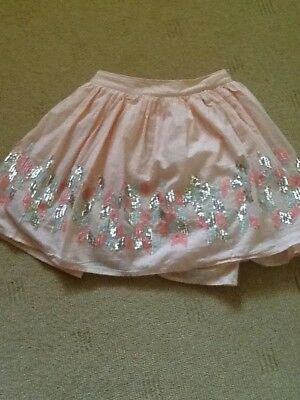 Girls Skirt Sparkle Party  Skirt 7-8years Marks and Spencer