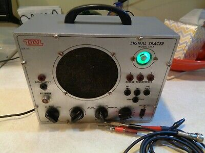 Eico Model 147A Signal Tracer  Good Magic Eye and test leads