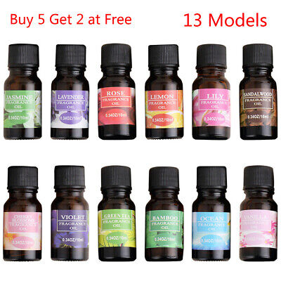 10ml Pure Essential Oils Natural Fragrance Aromatherapy 13 Scents for Choose