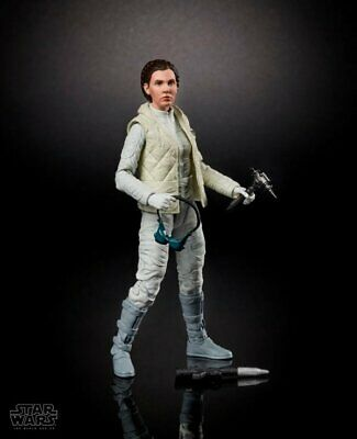 6 Inch Hoth Princess Leia Organa Figure Star Wars Black Series Collection .LOOSE