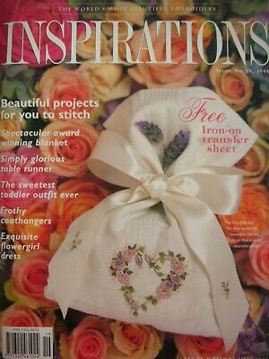 INSPIRATIONS - Magical Embroidery Projects plus Uncut Patterns still attached LN