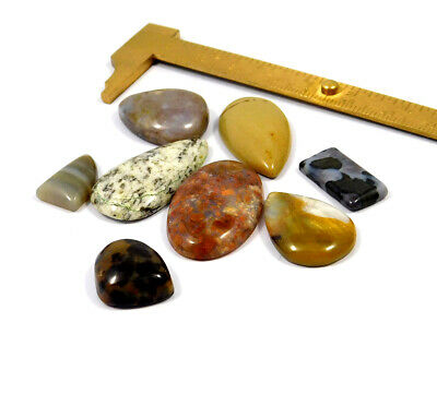 121 Cts. 100% Natural Lot Of Mix Stone Loose Cabochon Gemstone NG21134