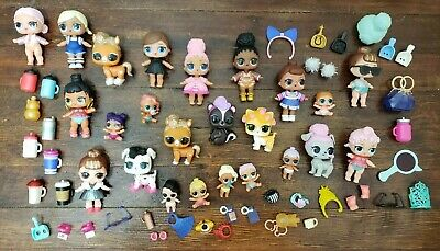 LOL Surprise Dolls lot with Accessories