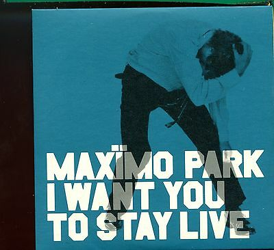 Maximo Park / I Want You To Stay Live - Numbered Card Sleeve