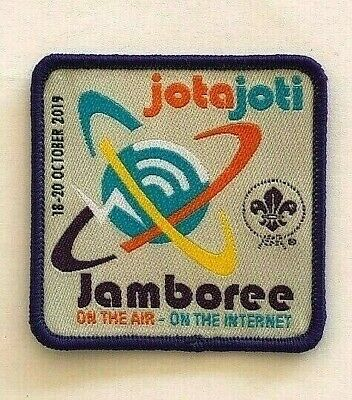 2019 JOTA JOTI World Scout Badge, Scouts Jamboree on the Air & Internet, Radio