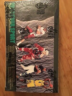1993 Classic Four Sport Draft Pick Collection Factory Sealed Box