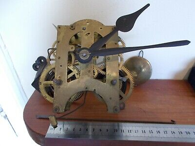 Antique Ansonia Brass Clock Movement