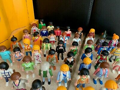 Playmobil personnage Lot de 53 figurines, personnages PLAYMOBIL