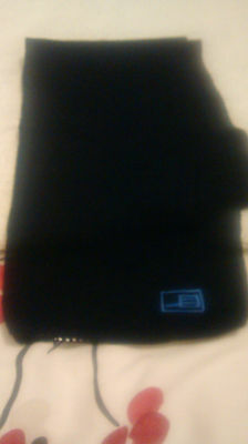 Brand New - Boys Scarf -  4-8 Yrs - Blue With Small Motif