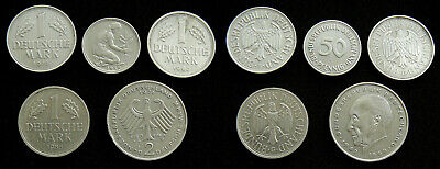 Germany Lot of 5 different coins