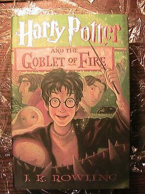 Harry Potter and The Goblet of Fire  1st American Edition. full number line. ERR