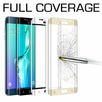 Tempered Glass Full Cover Screen Protector For Samsung Galaxy S9 S10 E 5G Plus