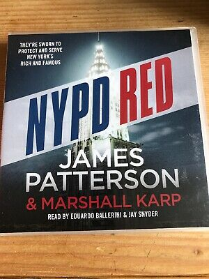 James Patterson - Nypd Red - 6 Cd Audio Book Set
