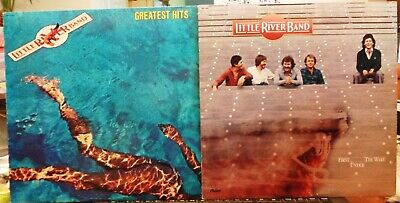 LITTLE RIVER BAND - LOT OF 2 LP's - GREATEST HITS & FIRST UNDER THE WIRE - VG++