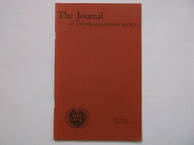 JOURNAL OF WILLIAM MORRIS SOCIETY VOL V No.1 SUMMER 1982 BURNE-JONES KARL MARX