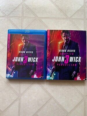 John Wick: Chapter 3 Parabellum (Blu-ray + DVD + Digital) W:Slipcover