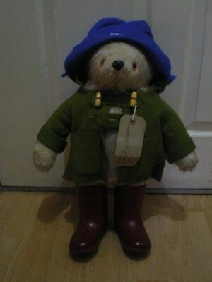 A Early Gabrielle  Designs Paddinton Bear  1970S  19 Inches Tall