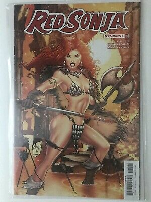 Dynamite Red Sonja # 18 Cover B Billy Tucci Cover NM