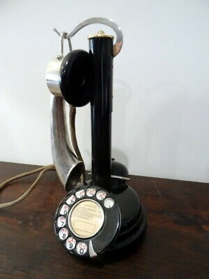 Ancien Telephone Antique Vintage Old Phone Deco Alte Telefon Thomson Houston