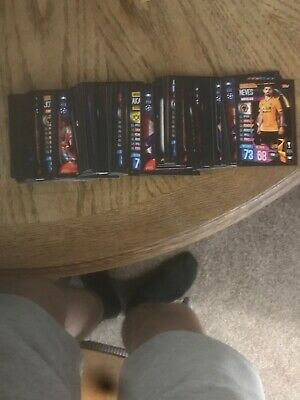 Match Attax 19/20 bundle of 50 Cards No duplicates Plus Sterling Limited Bronze