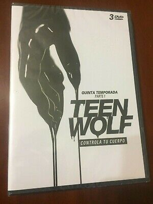 Teen Wolf Quinta Temporada Parte 1 - 3 Dvd Pal 2 - New Sealed Nuevo Embalado