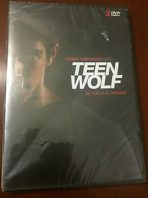 Teen Wolf Quinta Temporada Parte 2 - 3 Dvd Pal 2 - New Sealed Nuevo Embalado