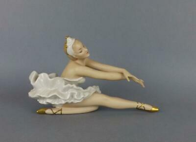 Antique Porcelain German Art Deco Figurine of Ballerina by Wallendorf