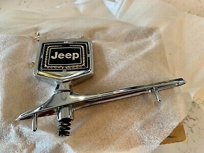 Jeep Grand Wagoneer Hood Ornament New Old Stock NOS -sealed original box