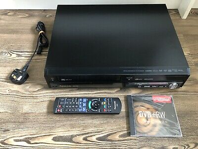 Panasonic DMR-EX98V DVD recorder TRANSFER VHS to DVD HDMI w/ 250GB HDD Freeview