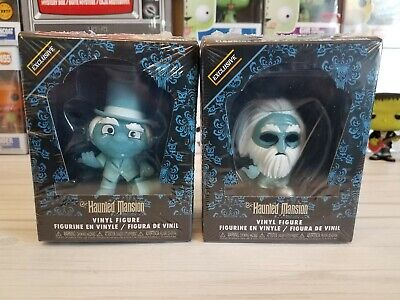 Funko Mystery Minis The Haunted Mansion GUS & PHINEAS Hot topic Exclusive NEW!