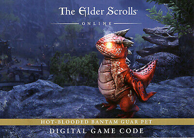 Elder Scrolls Online Bantam Guar Pet PC-MAC Dragonhold PAX 2019 Event
