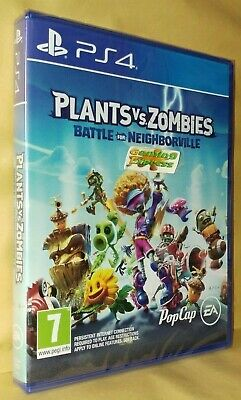 Plants vs Zombies Battle for Neighborville Playstation 4 NEW SEALED Free UK p&p