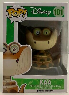 FUNKO POP! Disney The Jungle Book Kaa #101 Vaulted/Retired  W/Protector