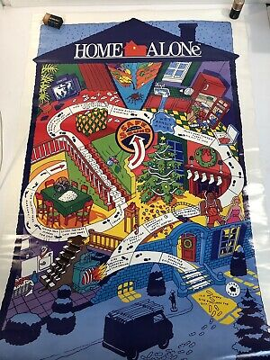 Home Alone 1990 Vintage Movie Poster A0-A1-A2-A3-A4-A5-A6-MAXI 437