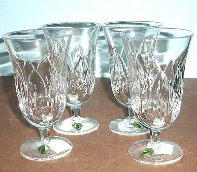 Waterford Ballylee Iced Beverage 4 PC. Set Crystal Made/Ireland 12oz New in Box