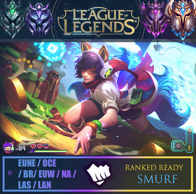 League of Legends Account LOL Level 30+ | NA + OCE | Up to 100+ Champs
