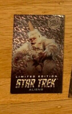 3 Dave Busters Star Trek Card Sets w/ Tribbles + 1 Limited Edition Mugato Only
