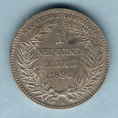 German New Guinea. 1894-A 1 Mark.. gVF - Much Lustre