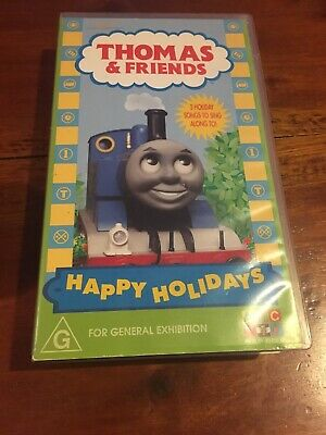 Thomas & Friends - Happy Holidays -  Abc Vhs Video