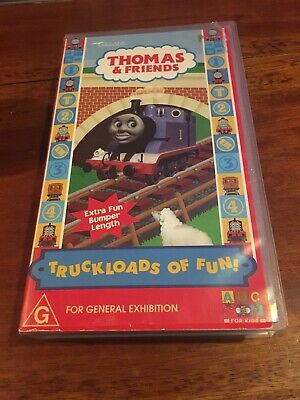Thomas & Friends - Truckloads Of Fun -  Abc Vhs Video