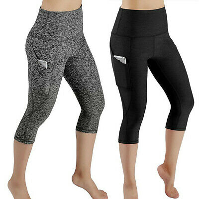 Women's Tights Fitness Sports Gym Running Yoga Exercise Pocket Sports Shorts