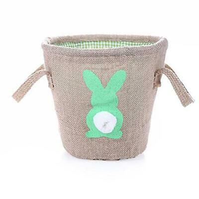 Easter Bag Cute Rabbit Ear Printed DIY Bunny Bag Easter Tote Bags For Candy JJ