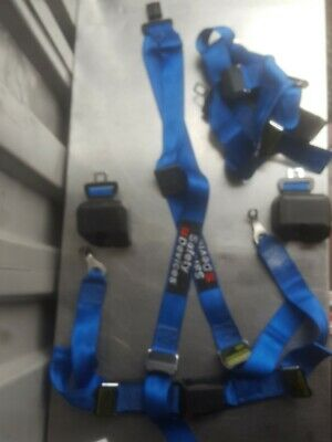 Safety Devices 4 Point Harness AND INERTIA REELS x 2