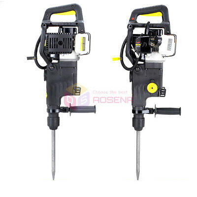 Dual Function Gasoline Power Hammer and Pick Gasoline Drilling Machine Breaker