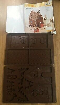 Chocolate Gingerbread Witch House Silicone Mould Halloween