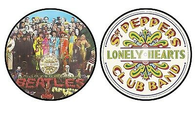 The Beatles sgt peppers lonely hearts club band UK Limited Picture Disc NEW MINT
