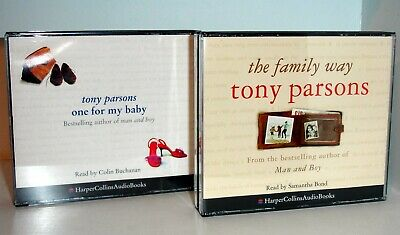 TONY PARSONS - The Family Way & One For My Baby - 2 CD Audio Books
