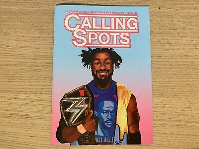 CALLING SPOTS - The Professional Wrestling Fans Magazine - Issue 31